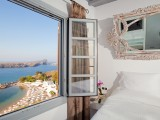 Lindos Shore Boutique Villa sea view window