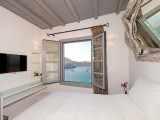 Lindos Shore Boutique Villa bedroom photo with sea view