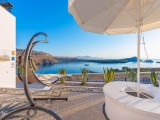 Lindos Shore Boutique Villa sea view courtyard